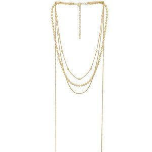 8 Other Reasons Amber Lariat Gold Chain Necklace